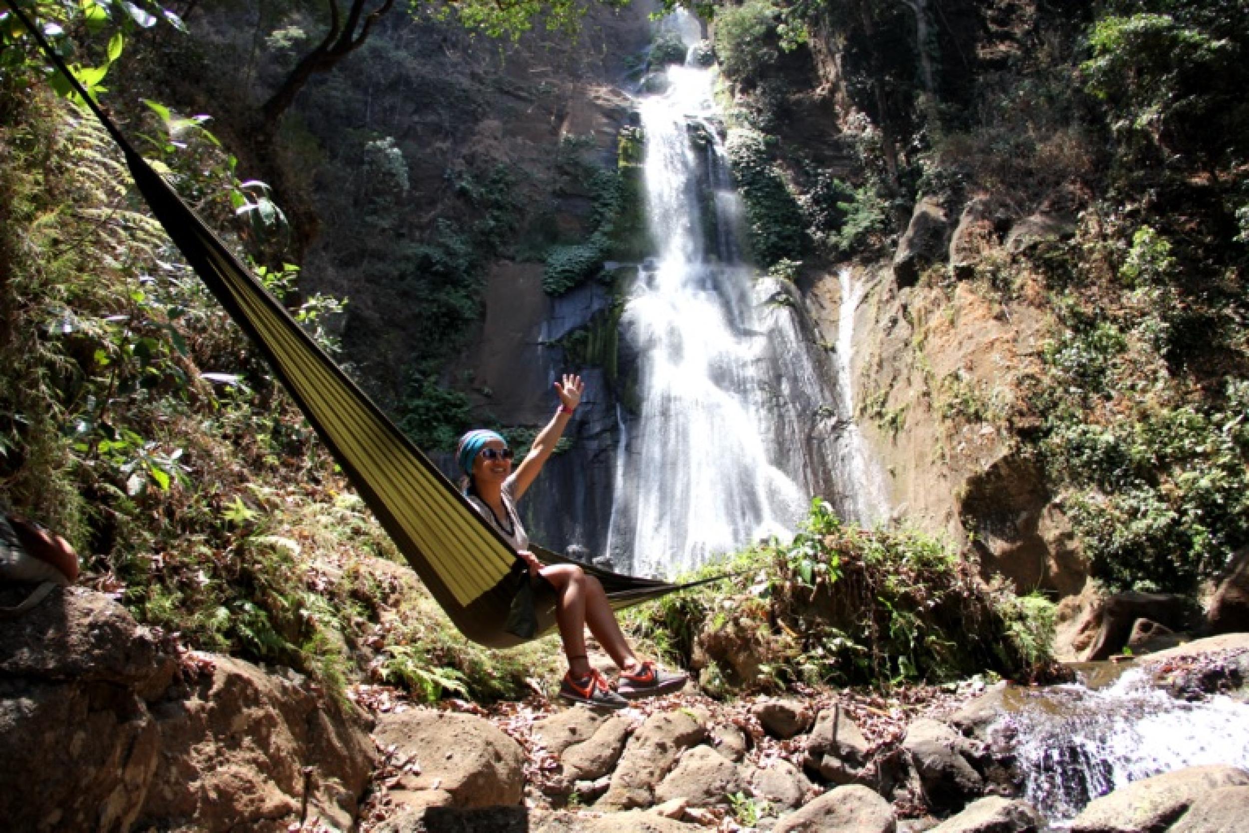Matara waterfall