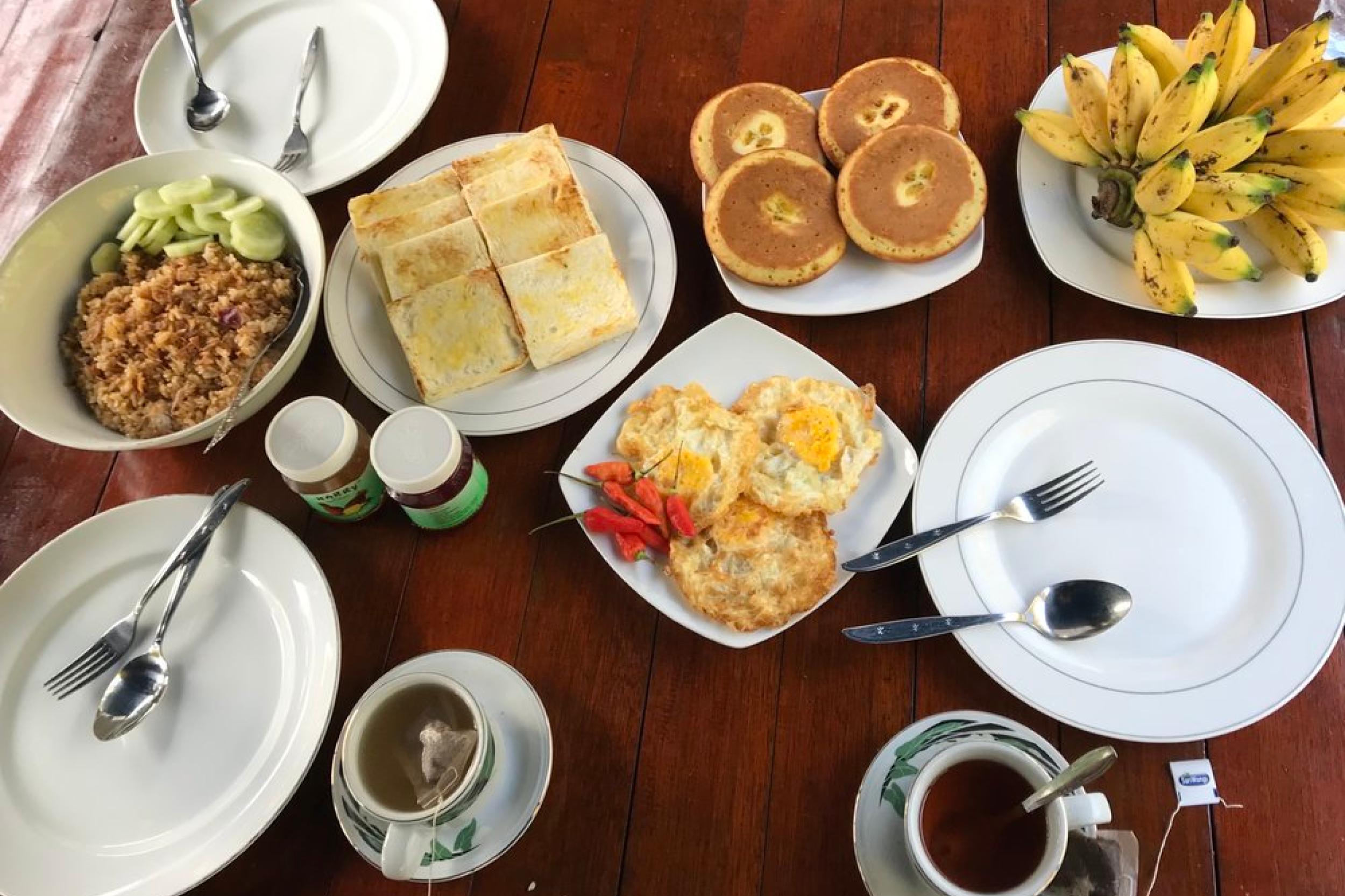 breakfast tanjung puting
