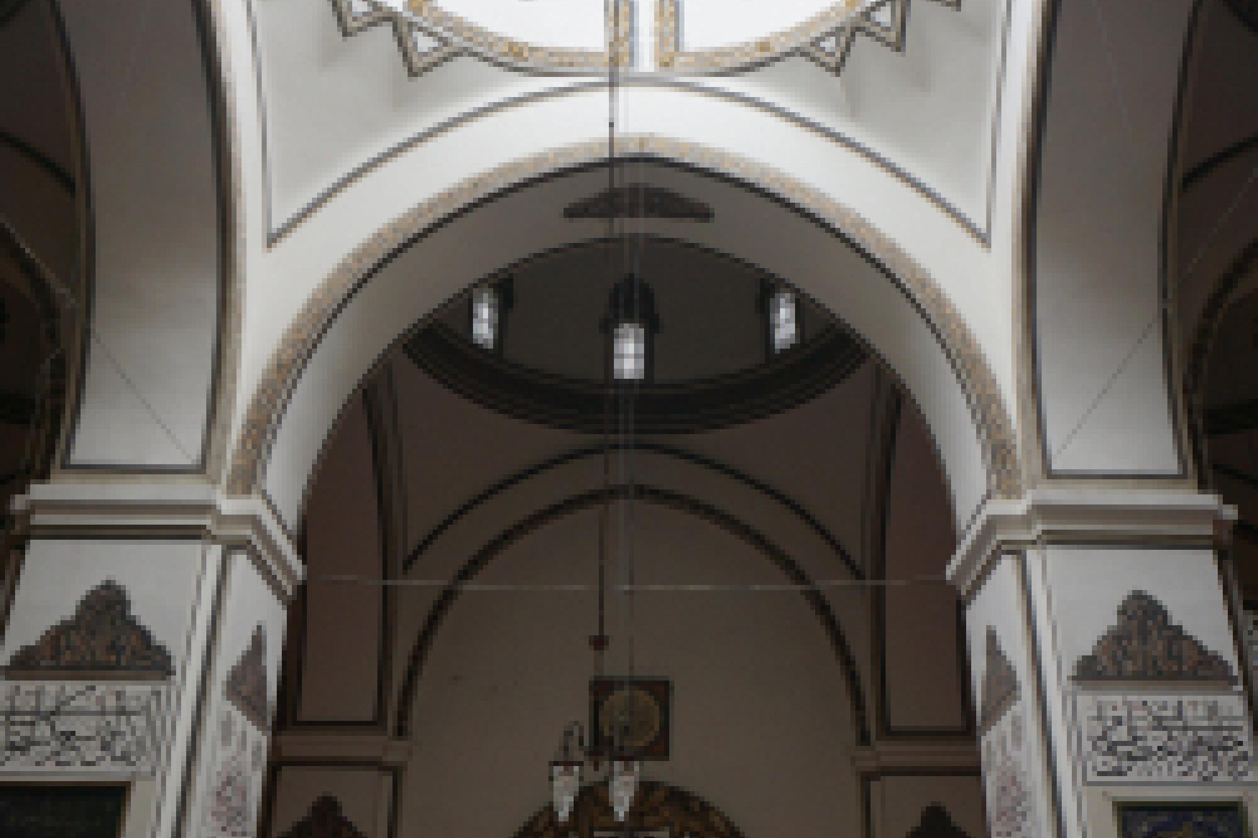 Kolam wudhu di tengah Grand mosque di kota Bursa 1
